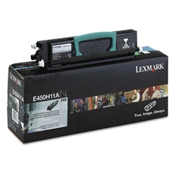 Genuine Lexmark E450DN High Yield Return Program Toner Cartridge - E450H11A