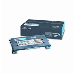 Genuine Lexmark C500/X500/X502 Cyan High Yield Toner Cartridge- C500H2CG