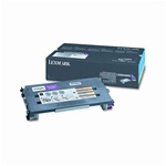 Genuine Lexmark C500/X500/X502 Magenta High Yield Toner Cartridge- C500H2MG