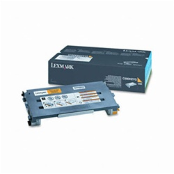 Genuine Lexmark C500/X500/X502 Yellow High Yield Toner Cartridge- C500H2YG