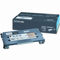 Genuine Lexmark C500/X500/X502 Black Toner Cartridge- C500S2KG