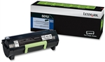 Genuine Lexmark MS510/MS610 Series Return Program Toner Cartridge (501U) - 50F1U00