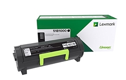 Genuine Lexmark MS317/MX317 Series Return Program Toner Cartridge  -  MS317, MX317, MS417, MX417, MS517, MX517, MS617, MX617 -51B1000