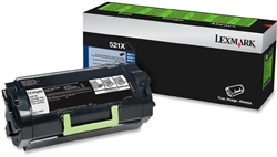 Genuine Lexmark MS711/MS811/MS812 Series Return Program Toner Cartridge (521X) - 52D1X00