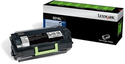 Genuine Lexmark MS711/MS811/MS812 Series Return Program Toner Cartridge For Labeling Applications (521XL) - 52D1X0L