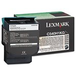 Genuine Lexmark C540/C543/C544/C546/X543/X544/X546 Black High Yield Return Program Toner Cartridge - C540H1KG