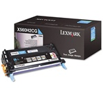 Genuine Lexmark X560 High Yield Cyan Toner Cartridge - X560H2CG