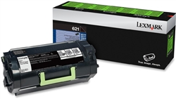 Genuine Lexmark MX710/MX711/MX810/MX811/MX812 Series Return Program Toner Cartridge (621) - 62D1000