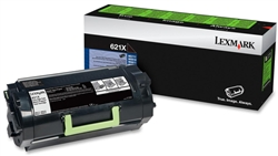 Genuine Lexmark MX711/MX810/MX811/MX812 Series Return Program Toner Cartridge (621X) - 62D1X00