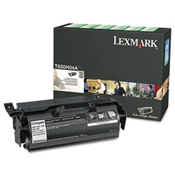 Genuine Lexmark T650/T652/T654/T656 High Yield Return Program Toner Cartridge for Labels - T650H04A