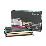 Genuine Lexmark C736/X736/X738 Magenta High Yield Return Program Toner - C736H1MG