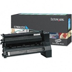 Genuine Lexmark C780/C782/X782 Cyan Return Program Toner Cartridge - CC780A1CG
