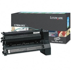 Genuine Lexmark C780/C782/X782 Black Return Program Toner Cartridge - CC780A1KG