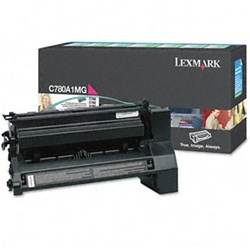 Genuine Lexmark C780/C782/X782 Magenta Return Program Toner Cartridge - CC780A1MG