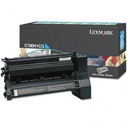 Genuine Lexmark C780/C782/X782 High Yield Cyan Return Program Toner Cartridge - CC780H1CG