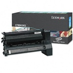 Genuine Lexmark C780/C782/X782 High Yield Black Return Program Toner Cartridge - CC780H1KG