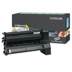 Genuine Lexmark C780/C782/X782 High Yield Yellow Return Program Toner Cartridge - CC780H1YG