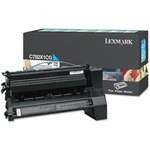 Genuine Lexmark C782/X782 Extra High Yield Cyan Return Program Toner Cartridge - CC782X1CG