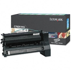 Genuine Lexmark C782/X782 Extra High Yield Black Return Program Toner Cartridge - CC782X1KG