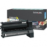Genuine Lexmark C782/X782 Extra High Yield Yellow Return Program Toner Cartridge - CC782X1YG