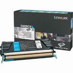 Genuine Lexmark C522/C524/C530/C532/C534 Cyan Return Program Toner Cartridge - C5220CS