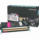 Genuine Lexmark C522/C524/C530/C532/C534 Magenta Return Program Toner Cartridge - C5220MS