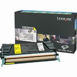 Genuine Lexmark C522/C524/C530/C532/C534 Yellow Return Program Toner Cartridge - C5220YS