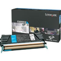 Genuine Lexmark C522/C524/C530/C532/C534 Cyan Toner Cartridge - C5222CS