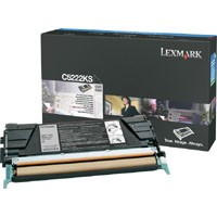 Lexmark C522/C524/C530/C532/C534 Black Toner Cartridge - C5222KS