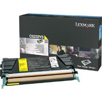 Genuine Lexmark C522/C524/C530/C532/C534 Yellow Toner Cartridge - C5222YS