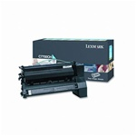 Genuine Lexmark C770/C772/X772 High Yield Cyan Return Program Print Cartridge - C7700CH
