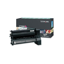 Genuine Lexmark C770/C772/X772 Magenta High Yield Return Program Print Cartridge - C7700MH