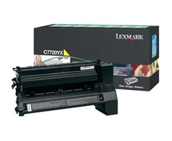 Genuine Lexmark C772n/X772e Extra High Yield Yellow Return Program Print Cartridge - C7720YX