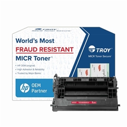 Troy M607, M608, M609  CF237A  Secure MICR Toner Cartridge - 02-82040-001