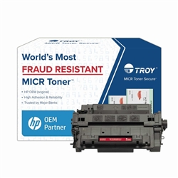 Genuine Troy P3015 MICR Standard Yield Toner Cartridge - 02-81601-500