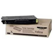 Genuine Xerox Phaser(R) 6100 Color Laser Printer Yellow Toner Cartridge Standard Capacity- 106R00678