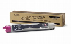 Genuine Xerox Phaser(R) 6350 Magenta Toner Cartridge  High Capacity - 106R01145