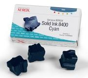 Genuine Xerox Phaser(R) 8400 Cyan Solid Ink - 108R00605