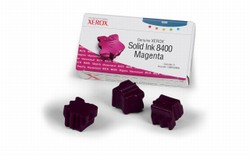 Genuine Xerox Phaser(R) 8400 Magenta Solid Ink - 108R00606
