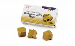 Genuine Xerox WorkCentre(R) C2424 Yellow Solid Ink - 108R00662
