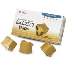 Genuine Xerox Phaser(R) 8500/8550 Yellow Solid Ink - 108R00671