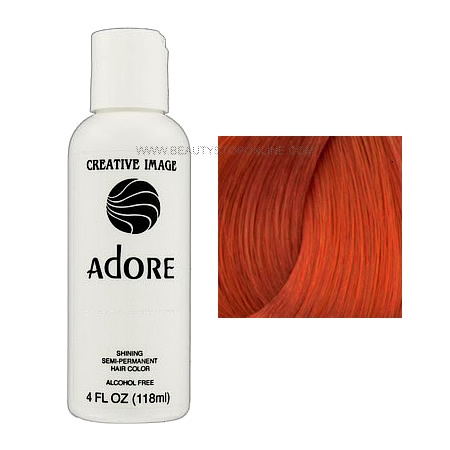 Adore Shining Semi Permanent Hair Color 72 Paprika Guaranteed New Authentic View Larger Photo