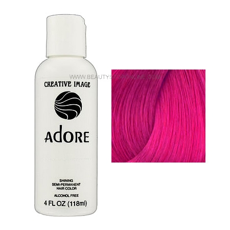 Adore Shining Pink Rose 82 Semi Permanent Hair Color Beauty Stop