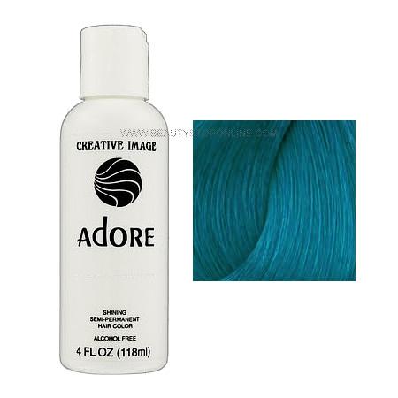 Adore Shining Semi Permanent Hair Color 117 Aquamarine