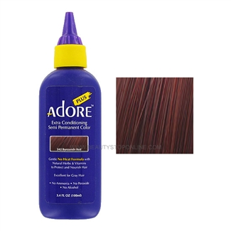 Adore Plus Semi-Permanent Hair Color 342 Burgundy Red