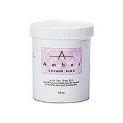 Amber Cream Depilatory Wax W/Tea Tree Oil (16 oz)