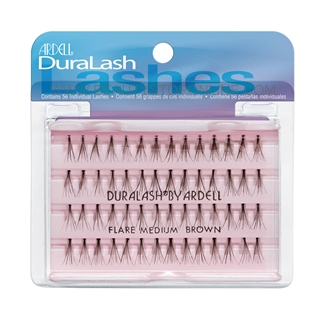 Ardell DuraLash Lashes - Flare Medium Brown 65098