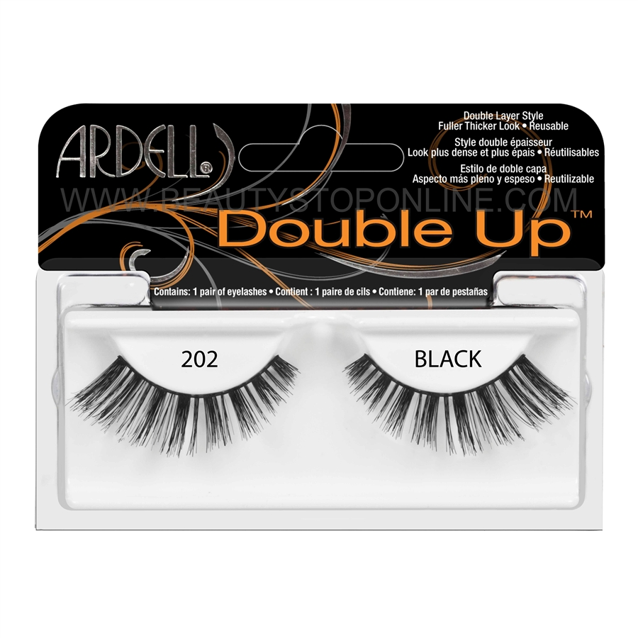 8da135a4fb8 Ardell Double Up 202 Black 61411 - Beauty Stop Online