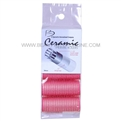 Spornette Battalia CR-0 Ceramic Thermal Rollers Pink 24mm 5pk
