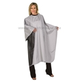 Betty Dain Silver & Black Reversi Cape 946